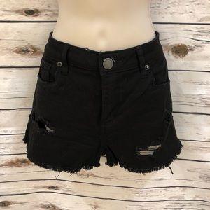 Black Jean Shorts- STS Blue size 28